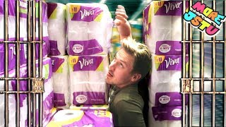 TOILET PAPER FORT PRISON ESCAPE!