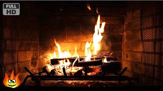Repeat youtube video Virtual Fireplace with Crackling Fire Sounds (Full HD)