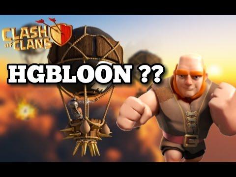 GIANT + BALLOON | HGB + BALLOON | Th9 New DEADLIEST 3 Stars WAR  Strategy | Clash Of Clans
