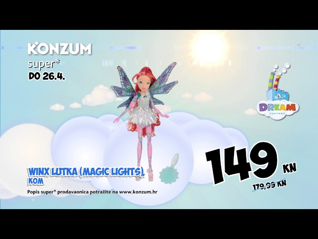 Konzum Dream Factory 16.3. - 26.4.