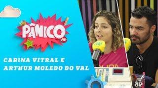 Baixar Carina Vitral e Arthur Moledo do Val - Pânico - 17/04/18