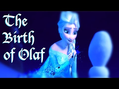 Fan-made Frozen Storyboard - The Birth of Olaf (HD)