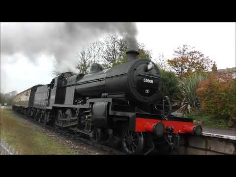 STEAM TRAINS AT WATCHET AND WILLITON WSR 19 OCTOBER 2017