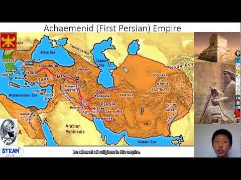 10 Empires in World History-The Achaemenid Empire