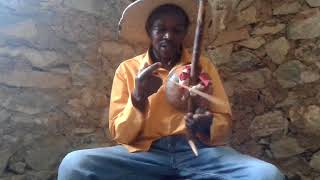 Boniface Lulenga - Bow (Hunters) Harp at the Iringa Boma