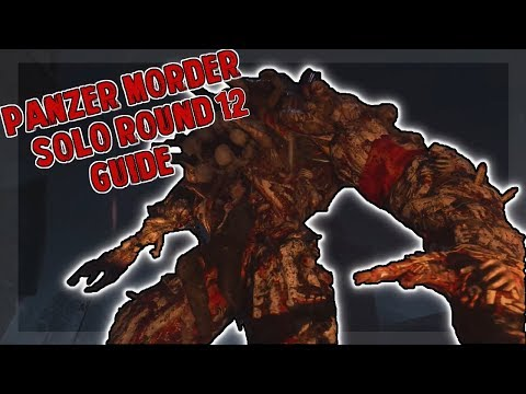 Thumbnail: Solo Panzer Morder Round 12 Guide ( COD WW2 Zombies)
