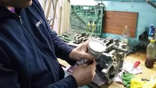 Ремонт двигателя Lifan X60 часть 3