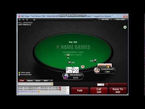 Tno3 Bonus 2,50$ - ABC Poker HU