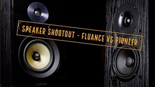 Speaker Shootout - Fluance Signature Bookshelf vs. Pioneer SP BS22LR