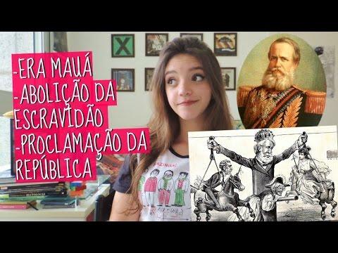 Resumo de História: SEGUNDO REINADO (Débora Aladim)