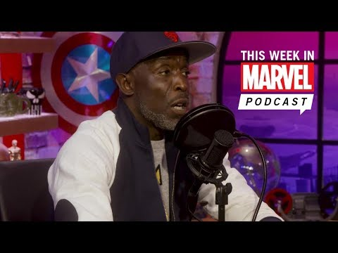 Actor Michael K. Williams stops by This Week in Marvel Podcast