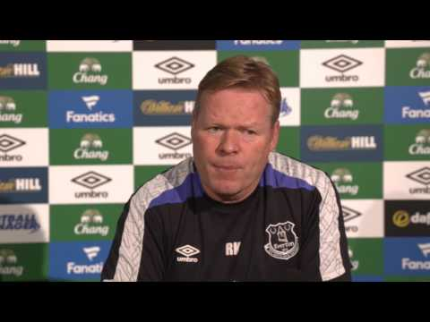 Ronald Koeman's pre-Bournemouth press conference