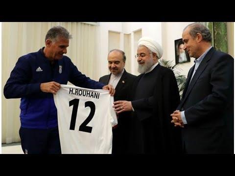 Rohani will Aufhebung des Stadionverbots für Irans Frauen