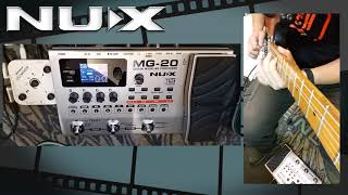 NUX MG-20 Looper Test By Jimmy Lin