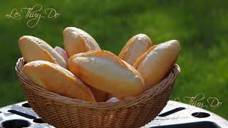Cách Làm Bánh Mì Việt Nam Có Cánh - How to Achieve A Nice Ear on Bread