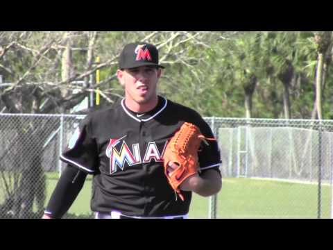Miami Marlins-Spring Training Pitchers & Catchers Workout 2016