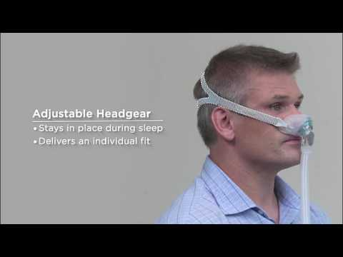 Brevida nasal pillow mask  new from FP Healthcare  YouTube