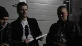 Zarj Interview mit uni-24.de und Ginex, Atures, Blaiz in Kassel