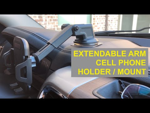$7.99 Extendable Arm Cell Phone Holder Car Mount [Worth Every Penny!]