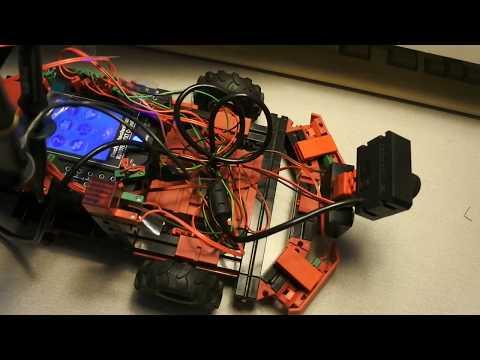 fischertechnik TXT controller : Discovery #98 - OpenCV, sensor, sonar, battery, oscilloscope, signal