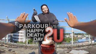 Cover images PARKOUR 2020 vs HAPPY DEATH DAY!