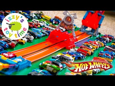 Cars for Kids | Hot Wheels RAPID RELAY with Fast Lane! Fun Toy Cars for Kids and Children