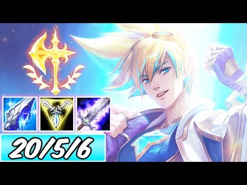 40% CDR CONQUEROR FULL AD STAR GUARDIAN EZREAL ADC | New Build & Runes | League of Legends | S10