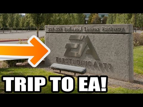 "VISITING ""EA"" ELECTRONIC ARTS HEADQUARTERS! Trip To San Fransisco!"