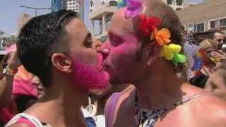 Gay Pride in Tel Aviv attracts tens of thousands