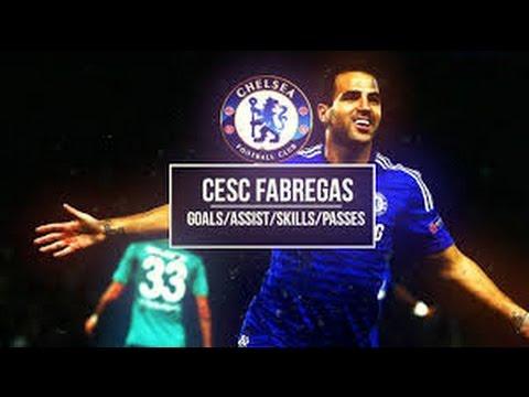 Cesc Fabregas ● Goals & Assists ●2015●Chelsea