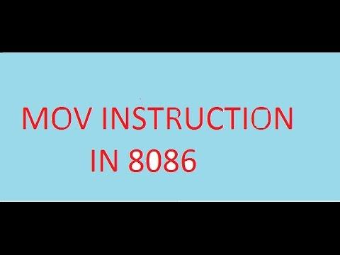 8086 Assembly Language | Part 02 - Mov Instruction | By Vikash Mehta