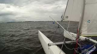 Cat Sailing baltic sea fehmarn GoPro hd