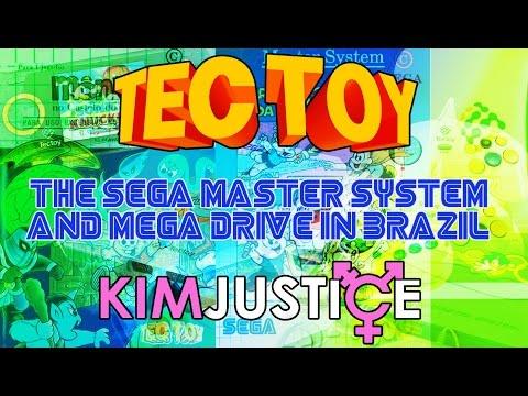 Tectoy:  The Sega Master System and Mega Drive in Brazil (inc. Brazil-exclusive Games) - Kim Justice