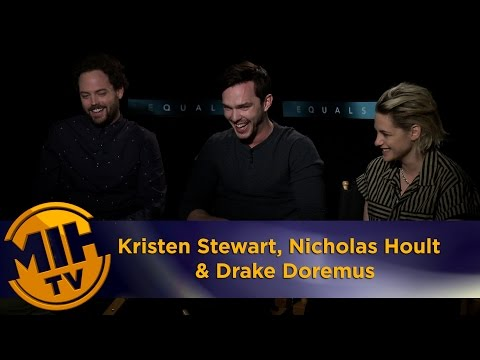 Kristen Stewart, Nicholas Hoult & Drake Doremus Uncut and Uncensored interview - Equals