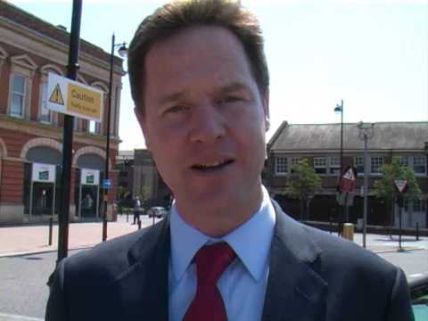 Nick Clegg: Come and help April Pond in Norwich