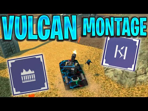 Tanki Online - Vulcan Montage #2  [Kills U0026 Dominations]   Acoustic
