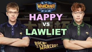 WC3 - CC Masters2 - Q1 - Semifinal: [UD] Happy vs. LawLiet [NE]