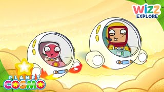 Planet Cosmo | Gas Planets | Full Episodes | Wizz Explore