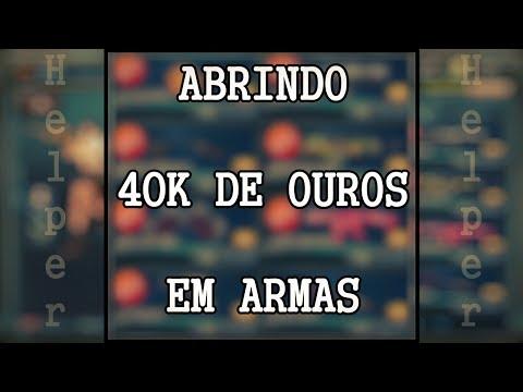 ABRINDO 40 ARMAS - CONTA HELPER [Blood Strike]