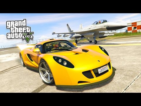 GTA 5 PC Mods - FASTEST CAR IN THE WORLD!! GTA 5 Real Cars Mod Gameplay! (GTA 5 Mods Gameplay)