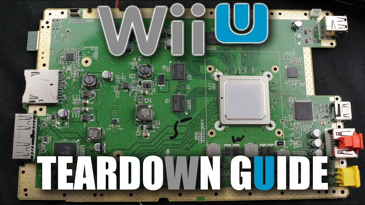 Wii U TEARDOWN GUIDE | STEP BY STEP - YouTube | Wii U Motherboard Wiring Diagram |  | YouTube