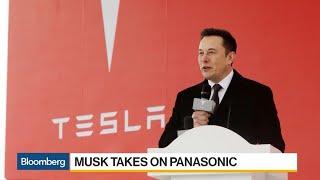 Musk Takes Aim at Panasonic Over Tesla ...