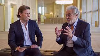 Interview with Maestro Placido Domingo \u0026 Italian tenor Pasquale Esposito Celebrating Enrico Caruso