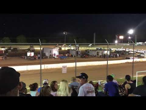 Sprint Cars @ Cochran Motor Speedway Heat 2