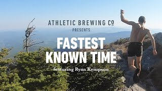 Ryan Kempson: Fastest Known Time
