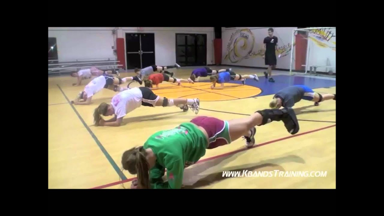 Volleyball Training | Resistance Bands | Core Strength ...