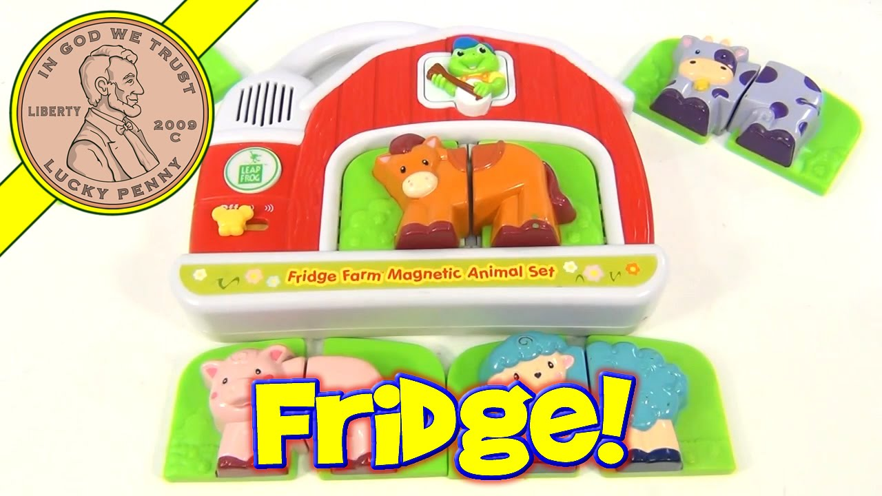 LeapFrog Fridge Farm Magnetic Animal Set Sounds Toy