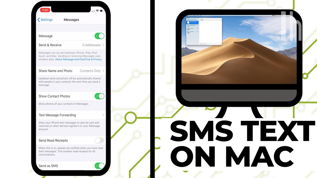How to Get SMS Text Messages on Your Desktop, iPad, Apple Watch, and All Apple Devices