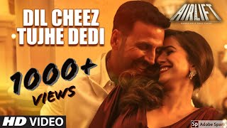 DIL CHEEZ TUJHE DEDI | 8D Audio | Use Headphone(Recommended) | AIRLIFT