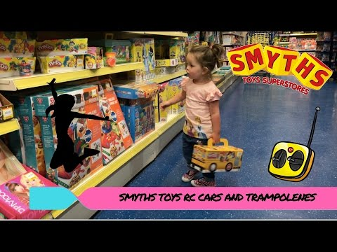 SMYTHS TOYS RC CARS AND TRAMPOLENES